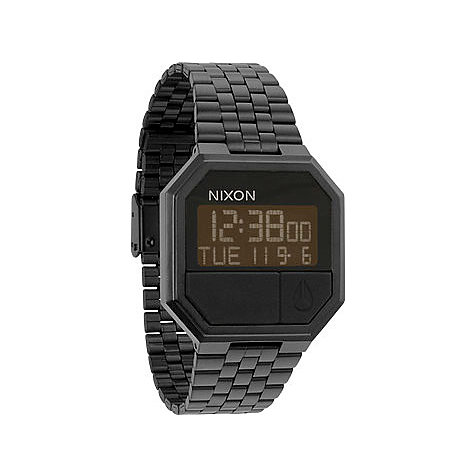 Nixon Armbanduhr Re-Run All Black A158 001