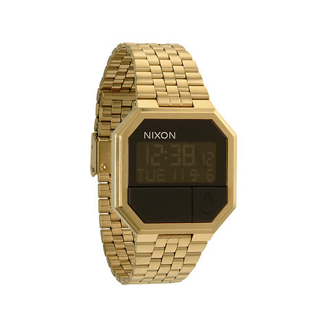 Nixon Armbanduhr Re-Run All Gold A158 502