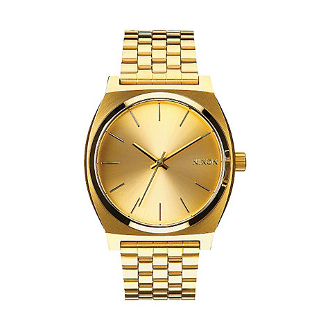 Nixon Armbanduhr Time Teller All Gold
