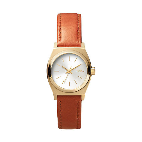 Nixon Damenuhr Small Time Teller Leather A509 1976