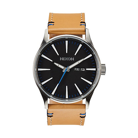 Nixon Herrenuhr Sentry Leather A105 1602