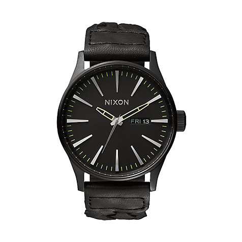 Nixon Herrenuhr Sentry Leather A105 1928