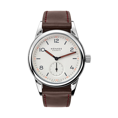 Nomos Glashütte Herrenuhr Club 701