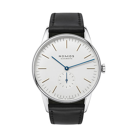 Nomos Glashütte Herrenuhr Orion 38 384