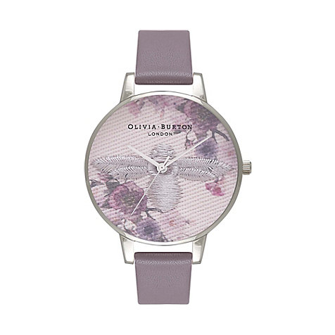 Olivia Burton Damenuhr Embroidered Dial