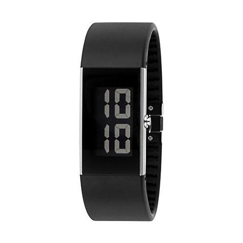Rosendahl herren armbanduhr digital schwarz 43103