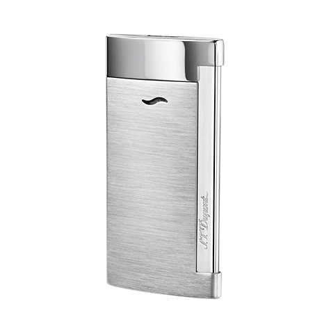 S.T. Dupont Feuerzeug Slim7 Brushed Chrome