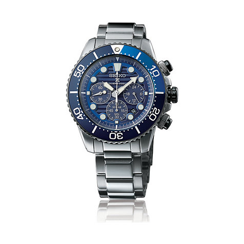 Seiko Herrenuhr Prospex Sea Save The Ocean SSC675P1