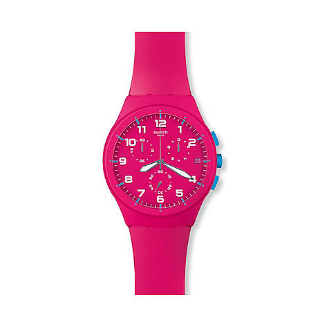 Swatch Chronograph Pink Frame SUSR401