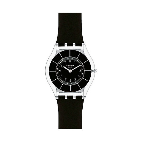 Swatch Damenuhr Black Classiness