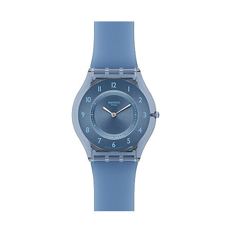 Swatch Damenuhr Blue Softness SFN120