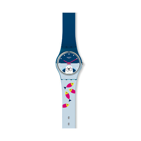 Swatch Damenuhr Fish Me Baby LN152