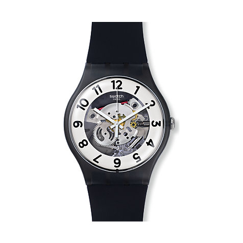 Swatch Herrenuhr Skeletor SUOB134