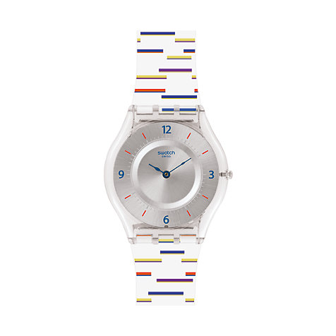 Swatch Damenuhr Thin Liner