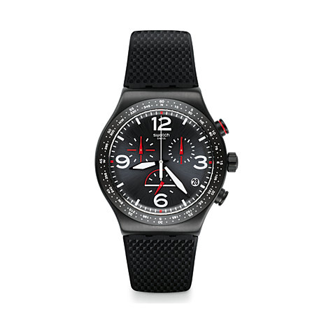 Swatch Herrenuhr Black Is Back YVB403