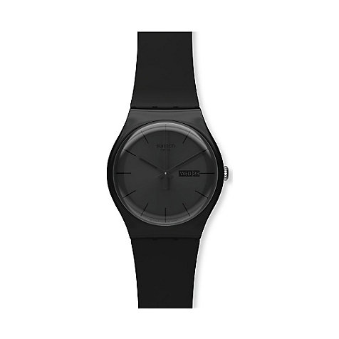 SWATCH Herrenuhr Black Rebel SUOB702
