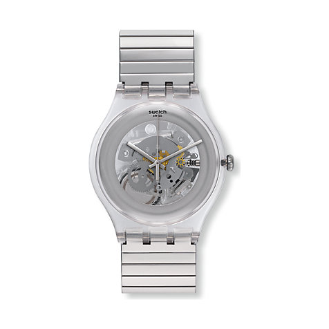 Swatch Herrenuhr Cleared Up L SUOK105FA