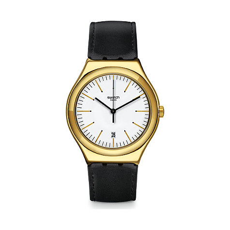 Swatch Herrenuhr Edgy Time YWG404