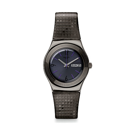 Swatch Herrenuhr London Smoke YLM700