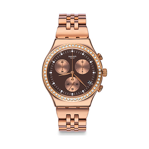Swatch Damenuhr Precious Rose YCG414G