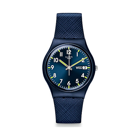 Swatch Herrenuhr Sir Blue