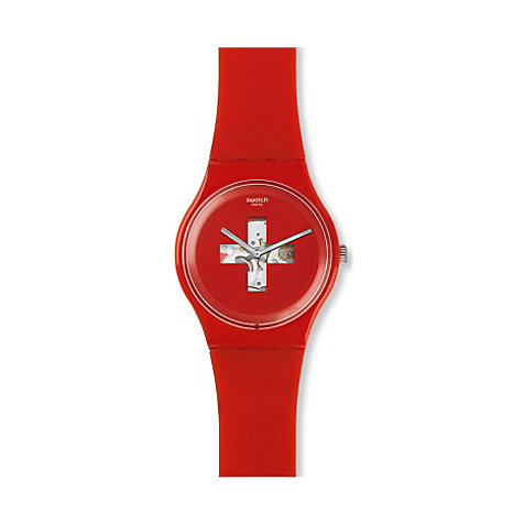 Swatch Damenuhr Swiss Around The Clock SUOR106