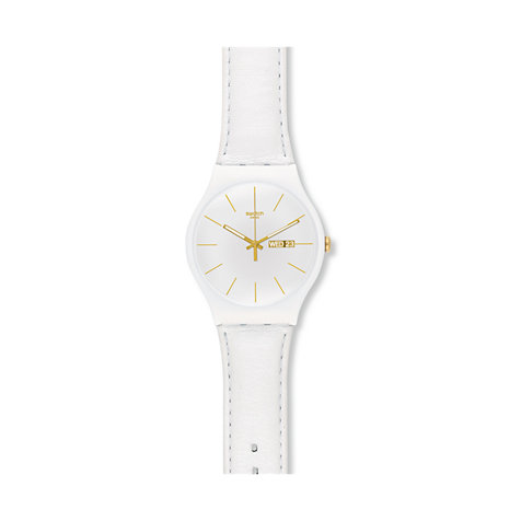 Swatch Damenuhr White Character SUOW703