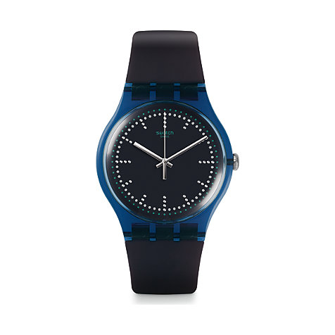 Swatch Unisexuhr Blue Pillow SUON121