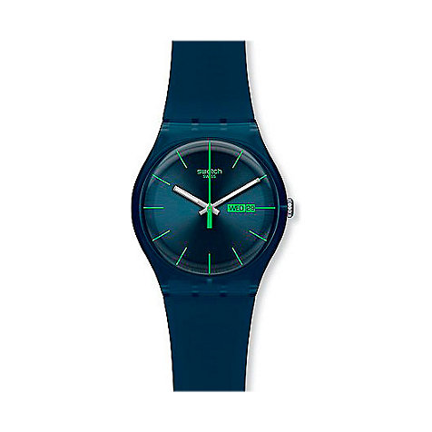 Swatch Unisexuhr Blue Rebel SUON700