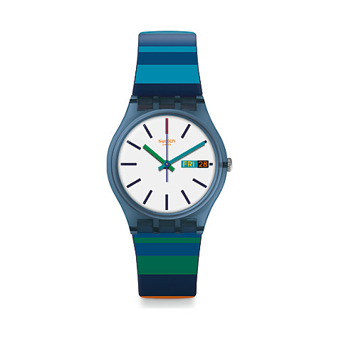 Swatch Unisexuhr Color Crossing