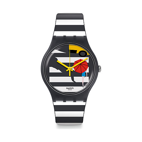 Swatch Unisexuhr Cross The Path SUOM108