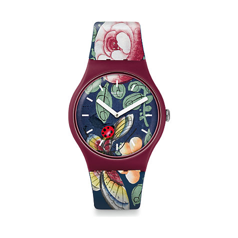 Swatch Unisexuhr Lady Buzz