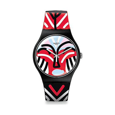 Swatch Unisexuhr Mask Parade SUOB127