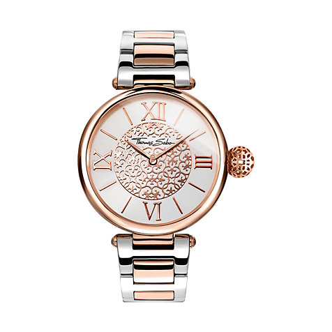 THOMAS SABO Damenuhr WA0257-277-201-38 mm