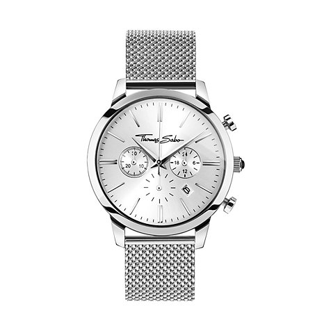 THOMAS SABO Herrenchronograph WA0244-201-201-42 mm