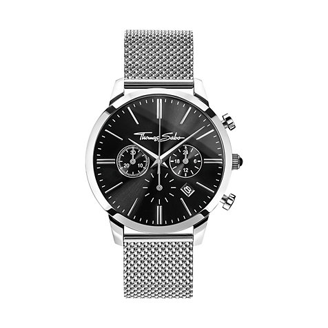 THOMAS SABO Herrenchronograph WA0245-201-203-42 mm