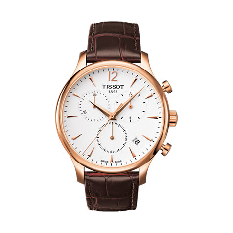 Tissot Herrenchronograph Tradition T0636173603700