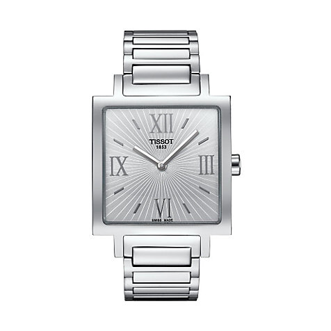 Tissot Damenuhr Happy Chic Square T0343091103300