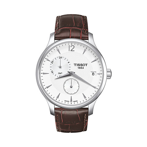 Tissot Herrenuhr Tradition Gmt T0636391603700