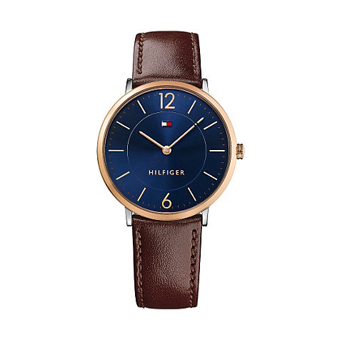 Tommy Hilfiger Herrenuhr Ultra Slim - Multi Branded