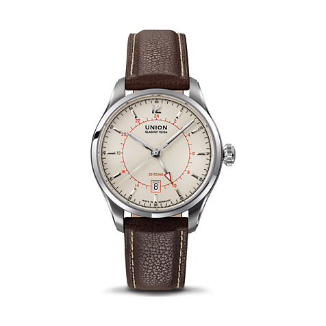 Union Glashütte Belisar GMT Herrenuhr D0094291626700