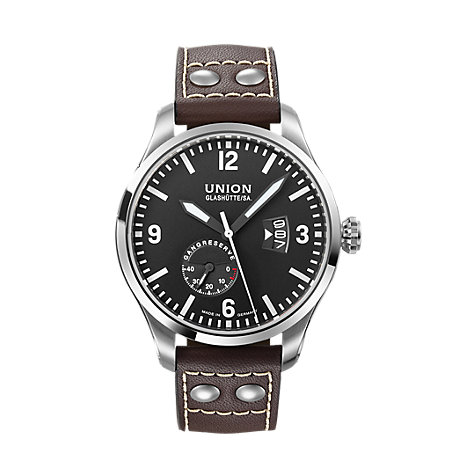 Union Glashütte Herrenuhr Pilot D002.624.16.057.00