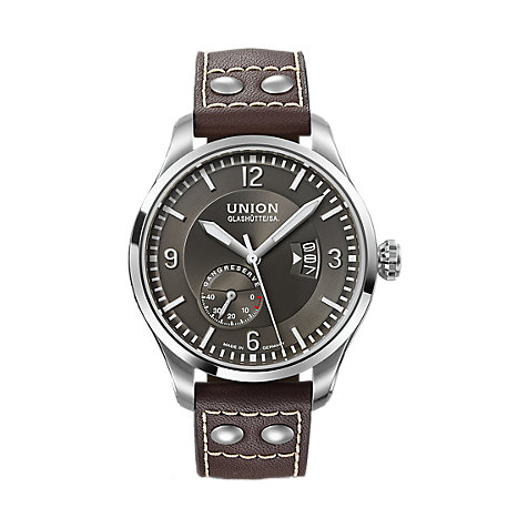 Union Glashütte Herrenuhr Pilot D002.624.16.087.00