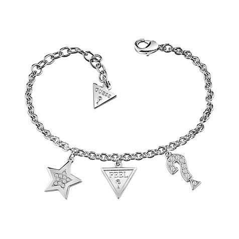 Guess Armband Start Heart And Charms JUBB83043JW