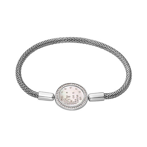 JETTE Silver Armband Highlight