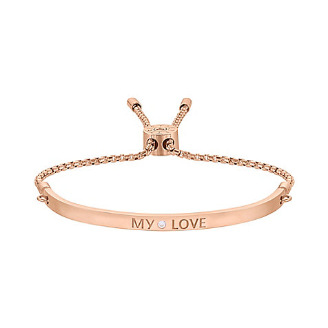 JETTE Silver Armband My Love 86952726