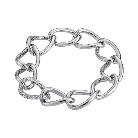 JETTE Silver CONNECTED Armband 85385364