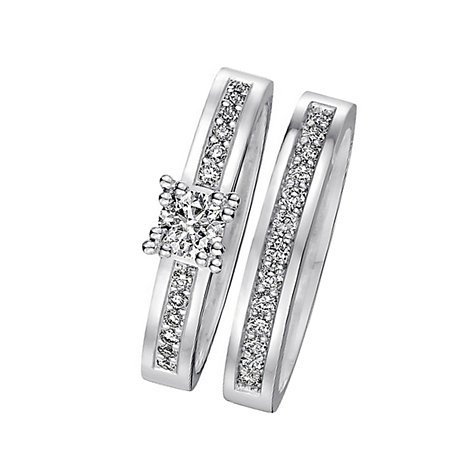 CHRIST Love Diamonds Damenring-Set 60036071