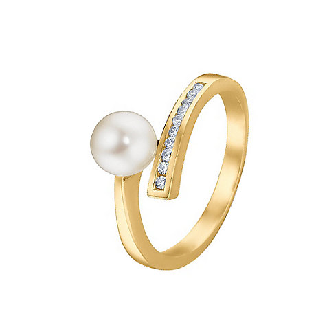 CHRIST Pearls Damenring 60016119