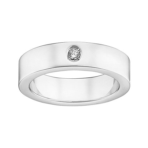 CHRIST Silver Diamonds Damenring 60060347